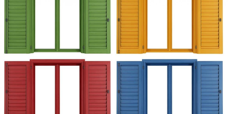 Χρώματα κουφωμάτων αλουμινίου