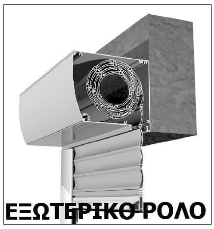 κουτιά εξωτερικα ρολών